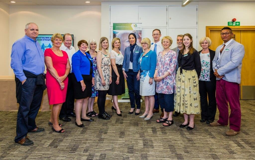 Arthritis Action Staff at AGM 2017